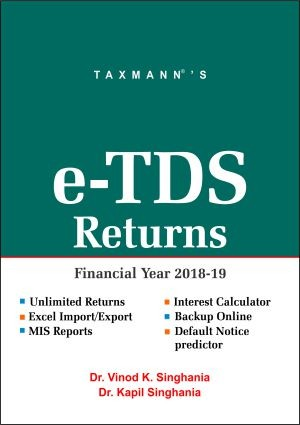 e-TDS Returns (Single User) (F.Y. 2018-19)