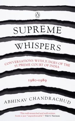 Supreme Whispers : Supreme Court Judges, 1980-90
