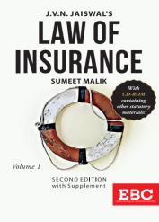 J V N Jaiswal Law of Insurance (in 2 Volumes)