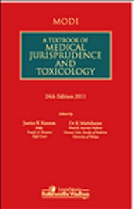 MODI A Textbook of Medical Jurisprudence and Toxicology, 24/e