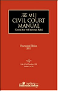 MLJ Civil Court Manual, 14/e Vol 4