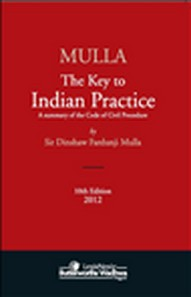 Mulla The Key to Indian Practice 10/e