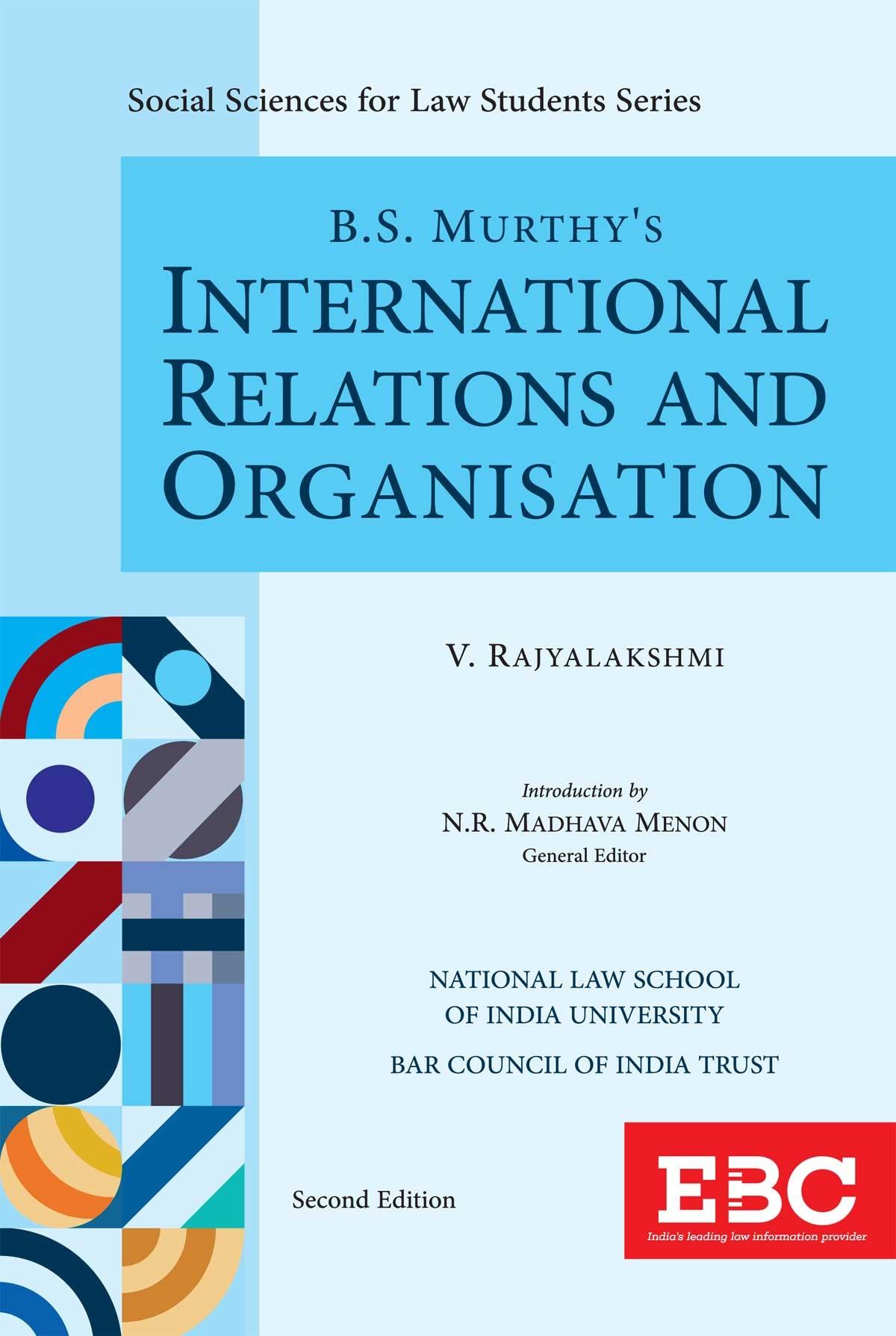 B.S. Murthy's International Relations and Organisation