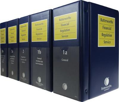 Butterworths Financial Regulation Service (Full Set)