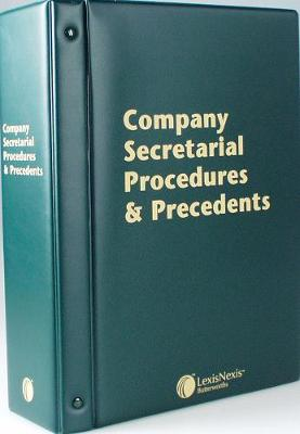 Butterworths Company Secretarial Procedures and Precedents: (Pay-In-Advance Subscription)