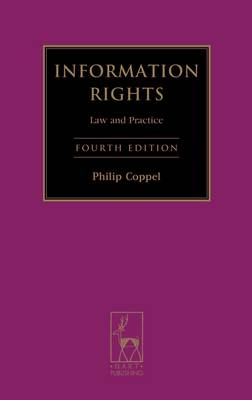 Information Rights: Law and Practice