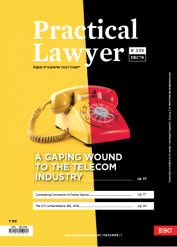 Practical Lawyer: A Gaping Wound To The Telecom Industry