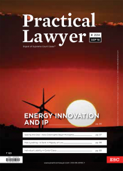 The Practical Lawyer: Energy Innovation and IP