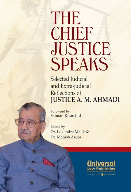 The Chief Justice Speaks