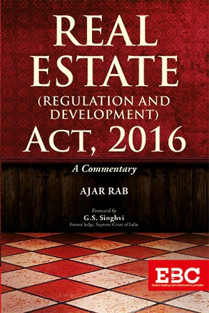 Real Estate (Regulation and Development)  Act, 2016 by Ajar Rab (Pre-Publication)