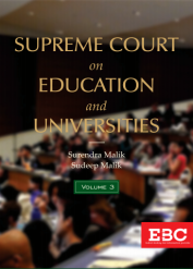 Supreme Court on Education and Universities (1950 to 2019) (in 3 Volumes)