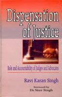 Dispensation Of Justice