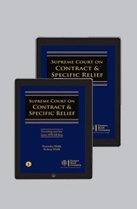 Supreme Court on Contract and Specific Relief - Set of 3 Volumes by Surendra Malik and Sudeep Malik