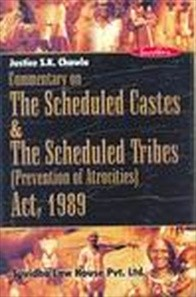 SCHEDULED CASTE & SCHEDULED TRIBES  (PREVENTION OF ATROCITES)  ACT, 1989
