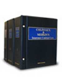 Colinvaux and Merkins Insurance Contract Law
