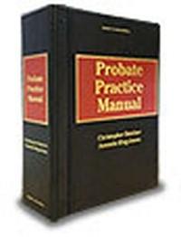 Probate Practice Manual