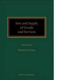 Sale and Supply of Goods and Services