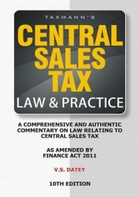 Central Sales Tax Law & Practice