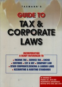 Guide to Tax & Corporate Laws