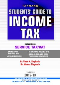 Students Guide to Income Tax (Including Service Tax/Vat)