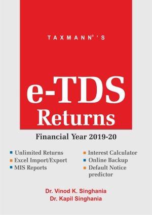 e-TDS Returns (Multi User) (F. Y. 2019-20)