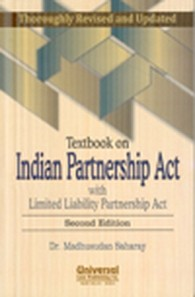 Textbook on Indian Partnership Act with Limited Liability Partnership Act, 2nd Edn.