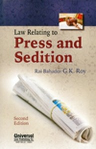 Law Relating to Press and Sedition, 2nd Edn.