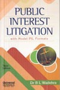 Public Interest Litigation - A Handbook