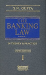 Banking Law in Theory and Practice, (In 3 Vols.)