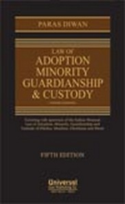 Law of Adoption Minority Guardianship & Custody