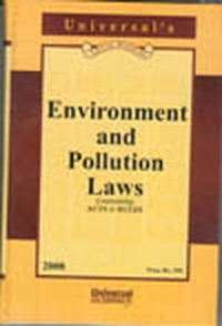 Environment and Pollution Laws (Containing Acts & Rules) (with FREE CD)