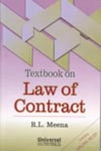 Textbook on Law of Contract Including Specific Relief