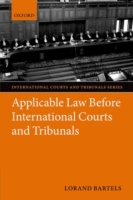 Applicable Law Before International Courts and Tribunals