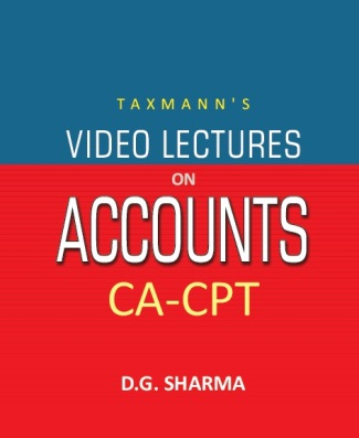 CA-CPT - Video Lectures on Accounts (Set of 7 DVDs)