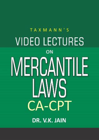 CA-CPT - Video Lectures on Mercantile Laws (Set of 2 DVDs)