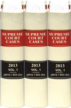 Supreme Court Cases (Criminal) (Back Volumes) - Bound Volumes