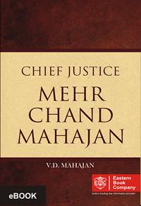 Chief Justice Mehr Chand Mahajan (e-book/Hardbound)