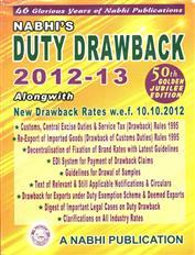 Duty Drawback 2012 - 13