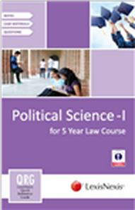 LexisNexis Quick Reference Guide - Political Science-I (for 5 Year Law Course)