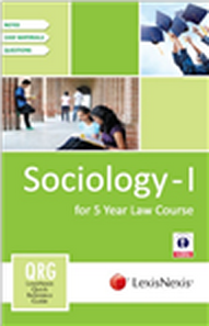 LexisNexis Quick Reference Guide - Sociology-I (for 5 Year Law Course)