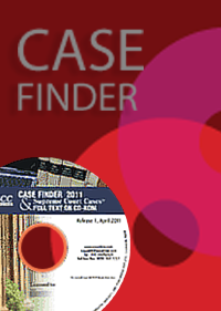 SCC Online Case Finder® (1950 onwards) with Supreme Court Cases Full Text on CD-ROM (1969 onwards) (Standard Edition)