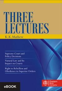 Three Lectures (e-book/Hardbound)