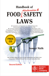 Food Adulteration - Handbook of Food Adulteration and Safety Laws (Now with Free CD)