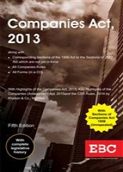 Companies Act 2013 with Rules [with CD] (Containing Compnay Law)