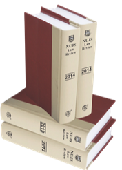 NUJS Law Review [Bound Volume]