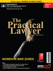 The Practical Lawyer- WOMEN IN WAR ZONES