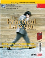 The Practical Lawyer - INDIA OPEN TO BUSINESS - FDI POLICY FURTHER LIBERALISED