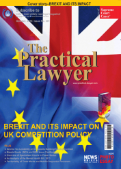 The Practical Lawyer - BREXIT and its Impact on UK Competition Policy