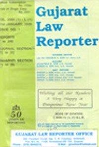 Gujarat Law Reporter (GLR) [Monthly]