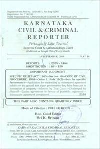 Karnataka Civil and Criminal Reporter